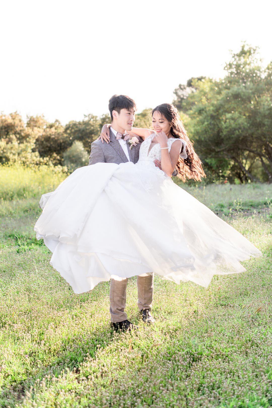 capture d'image de mariage dans les règles de l'art
